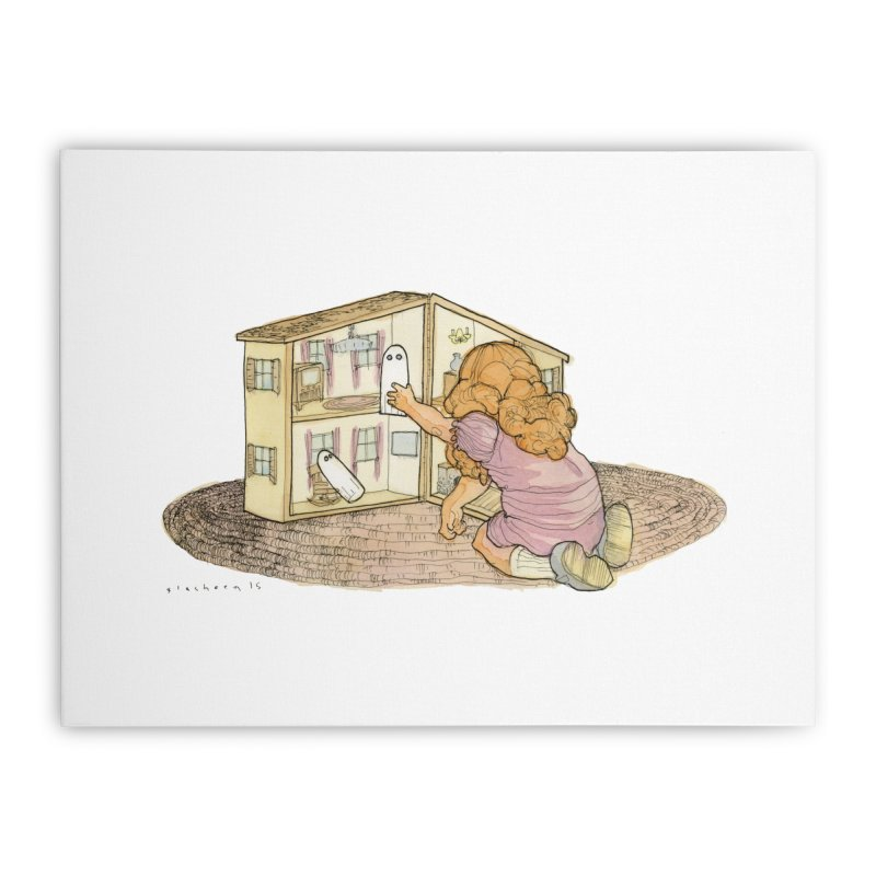 Better Bedrooms Home Stretched Canvas by Katiecrimespree's Ye Olde Shirt Shoppe