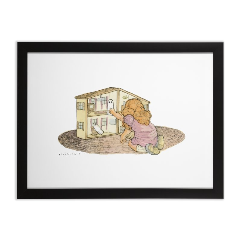 Better Bedrooms Home Framed Fine Art Print by Katiecrimespree's Ye Olde Shirt Shoppe