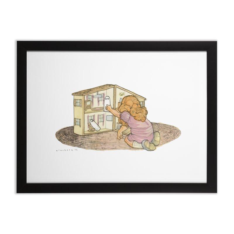 Better Bedrooms Home Framed Fine Art Print by Katiecrimespree's Ye Olde Shirt Shoppe