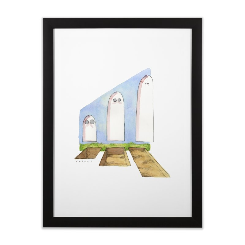 Containers [V=(W)(H)] Home Framed Fine Art Print by Katiecrimespree's Ye Olde Shirt Shoppe