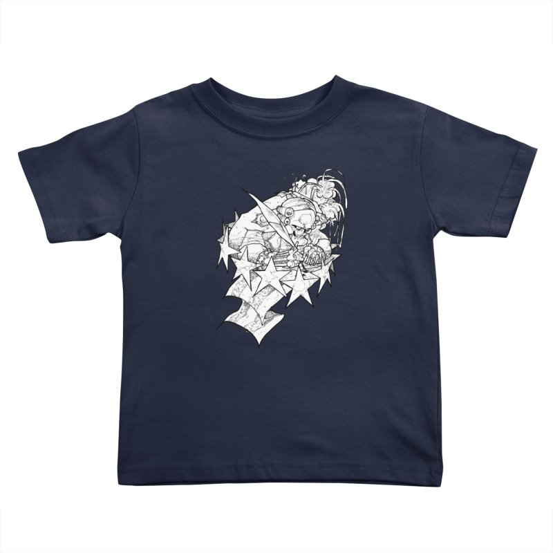 July 1st, 1776 [The First Welfare Check] Kids Toddler T-Shirt by Katiecrimespree's Ye Olde Shirt Shoppe