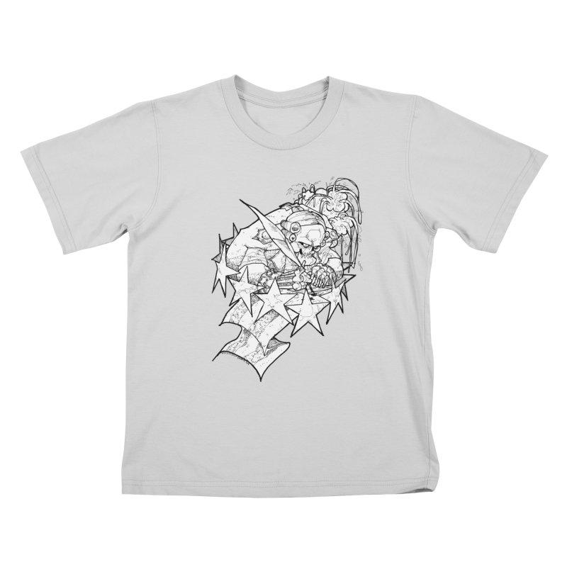 July 1st, 1776 [The First Welfare Check] Kids T-Shirt by Katiecrimespree's Ye Olde Shirt Shoppe