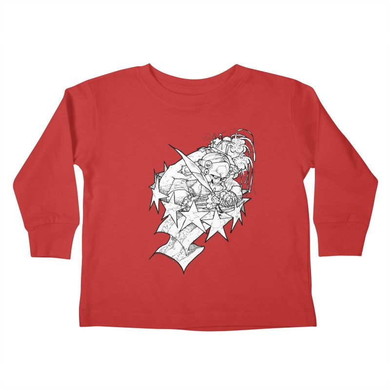 July 1st, 1776 [The First Welfare Check] Kids Toddler Longsleeve T-Shirt by Katiecrimespree's Ye Olde Shirt Shoppe