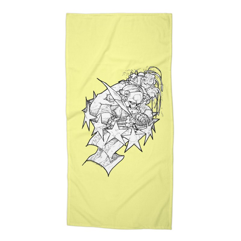 July 1st, 1776 [The First Welfare Check] Accessories Beach Towel by Katiecrimespree's Ye Olde Shirt Shoppe