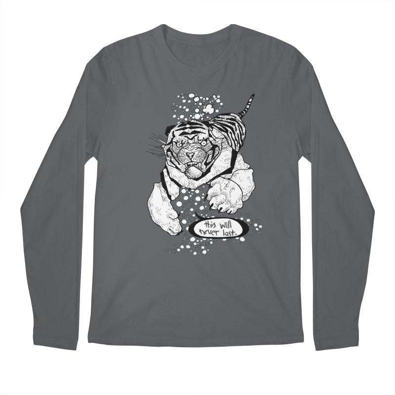 Neverlast Men's Longsleeve T-Shirt by Katiecrimespree's Ye Olde Shirt Shoppe