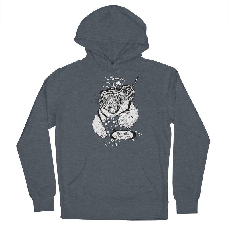 Neverlast Men's Pullover Hoody by Katiecrimespree's Ye Olde Shirt Shoppe