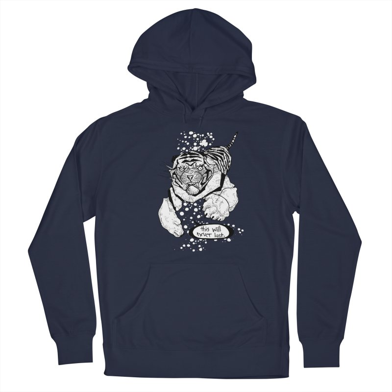 Neverlast Men's Pullover Hoody by Katiecrimespree's Ye Olde Shirt Shoppe