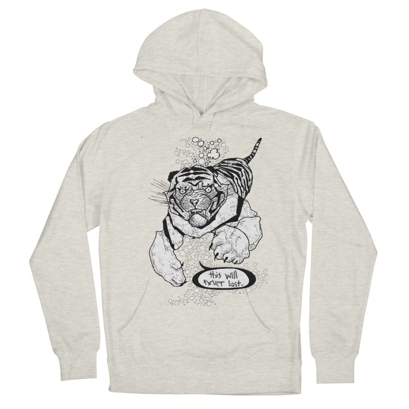 Neverlast Men's French Terry Pullover Hoody by Katiecrimespree's Ye Olde Shirt Shoppe