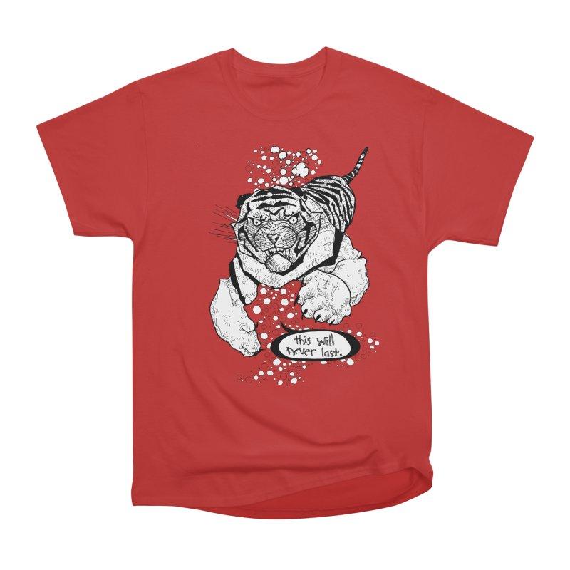 Neverlast Men's Heavyweight T-Shirt by Katiecrimespree's Ye Olde Shirt Shoppe