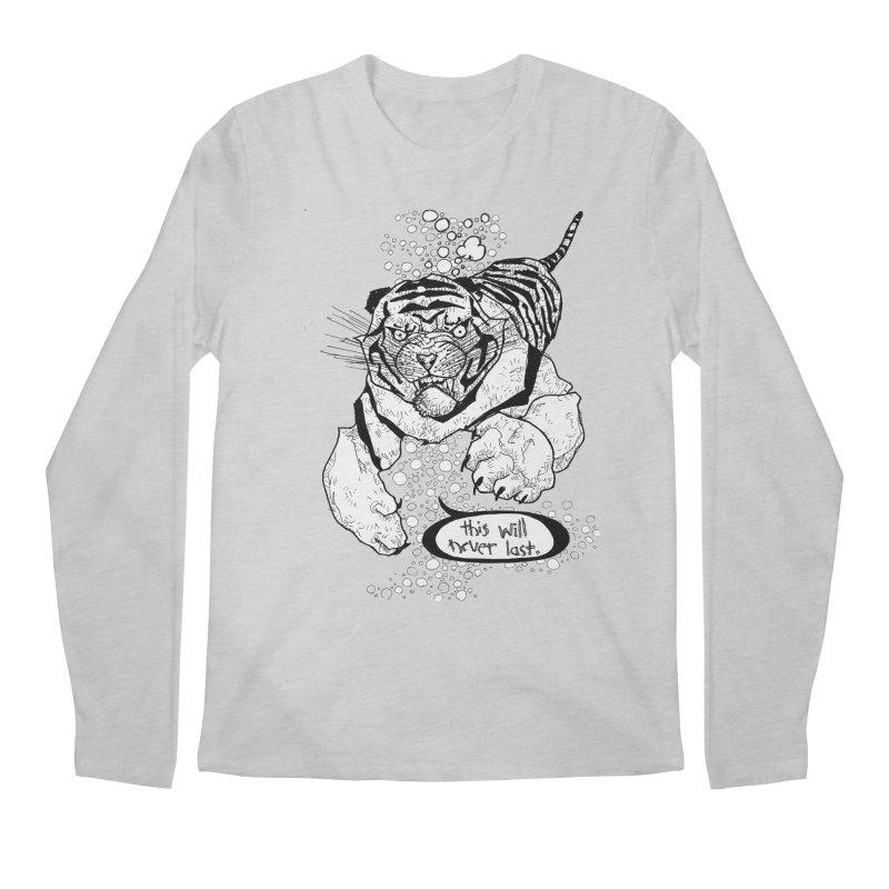 Neverlast Men's Regular Longsleeve T-Shirt by Katiecrimespree's Ye Olde Shirt Shoppe