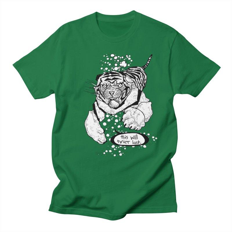 Neverlast Men's Regular T-Shirt by Katiecrimespree's Ye Olde Shirt Shoppe