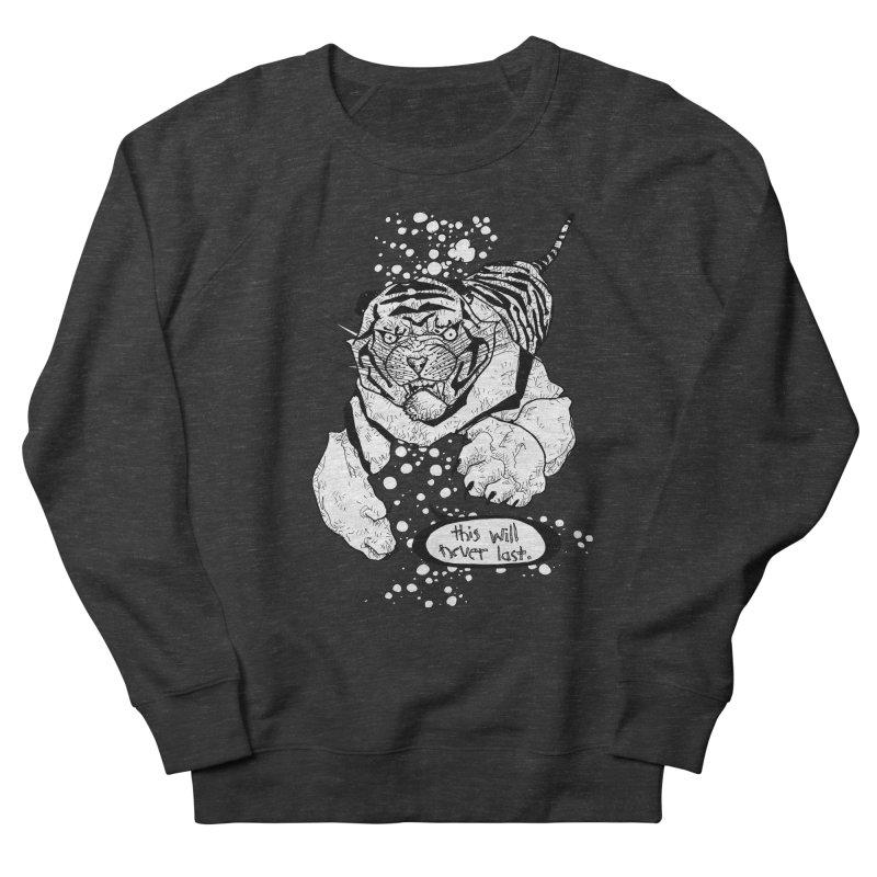 Neverlast Men's French Terry Sweatshirt by Katiecrimespree's Ye Olde Shirt Shoppe