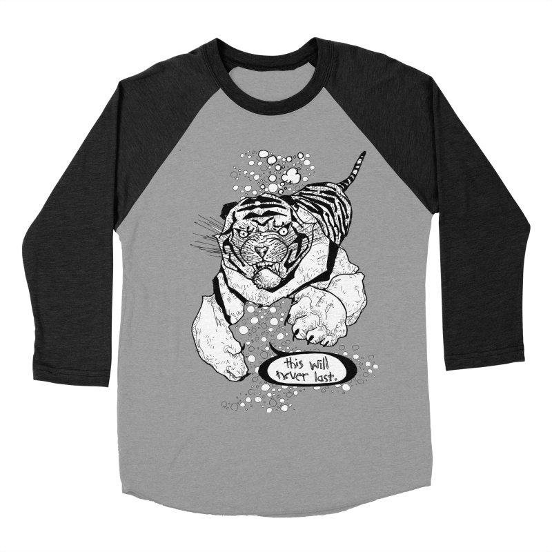 Neverlast Women's Baseball Triblend Longsleeve T-Shirt by Katiecrimespree's Ye Olde Shirt Shoppe