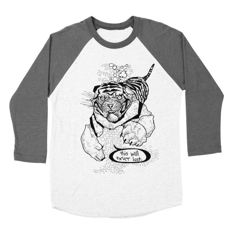 Neverlast Men's Baseball Triblend Longsleeve T-Shirt by Katiecrimespree's Ye Olde Shirt Shoppe