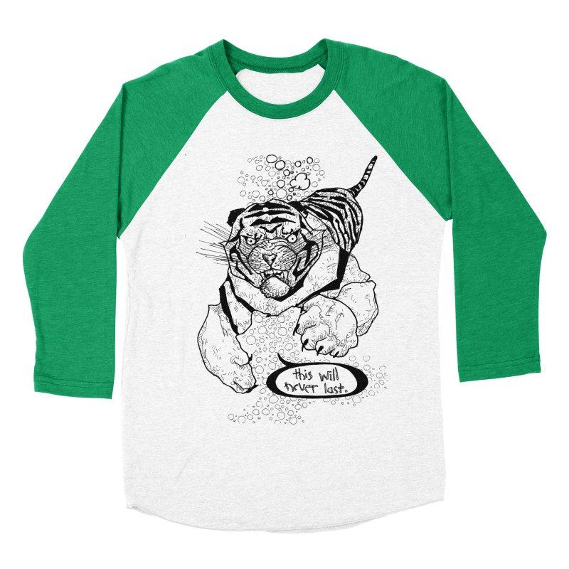 Neverlast Men's Baseball Triblend T-Shirt by Katiecrimespree's Ye Olde Shirt Shoppe