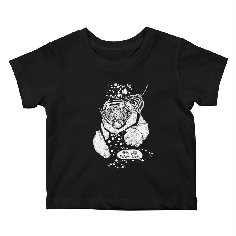 Neverlast Kids Baby T-Shirt by Katiecrimespree's Ye Olde Shirt Shoppe