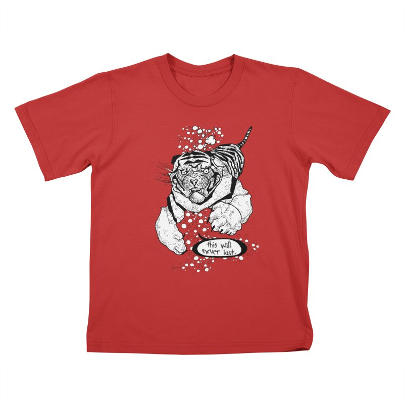 Neverlast Kids T-Shirt by Katiecrimespree's Ye Olde Shirt Shoppe