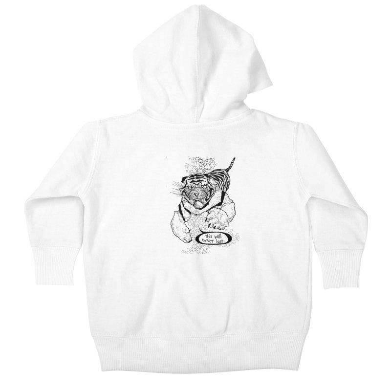 Neverlast Kids Baby Zip-Up Hoody by Katiecrimespree's Ye Olde Shirt Shoppe