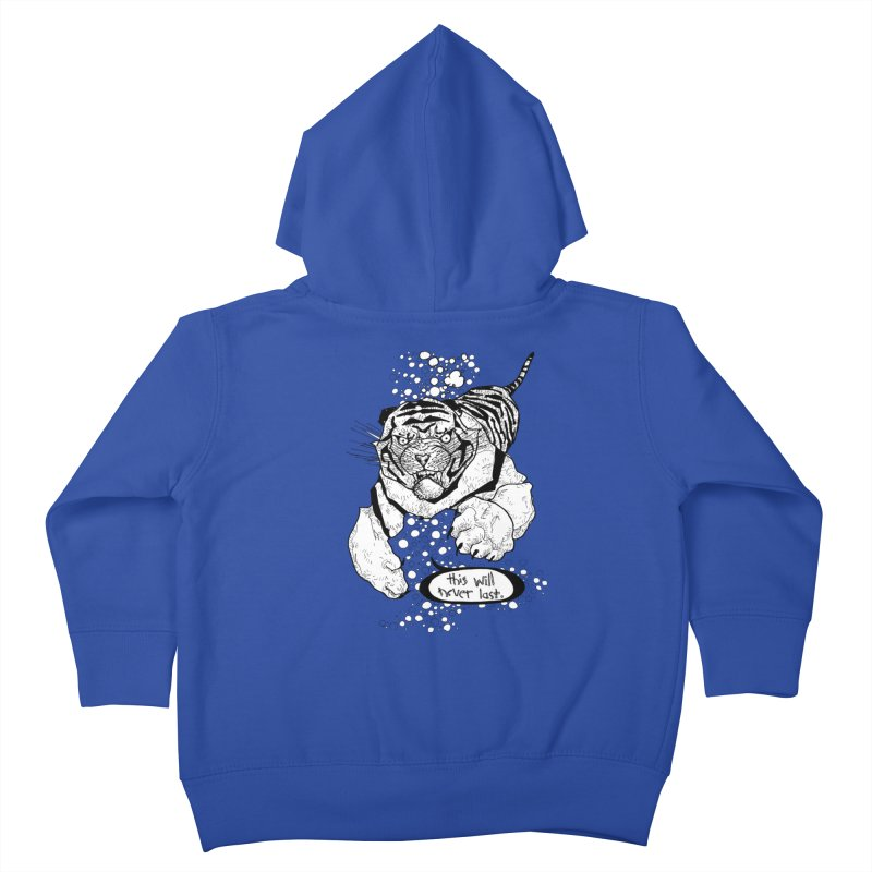Neverlast Kids Toddler Zip-Up Hoody by Katiecrimespree's Ye Olde Shirt Shoppe