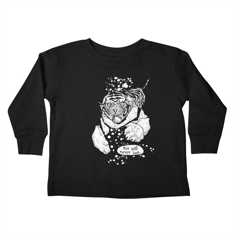 Neverlast Kids Toddler Longsleeve T-Shirt by Katiecrimespree's Ye Olde Shirt Shoppe