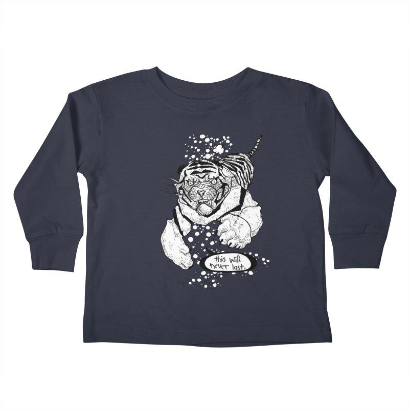 Neverlast Kids Toddler Longsleeve T-Shirt by Katiecrimespree's Ye Olde Shirt Shoppe