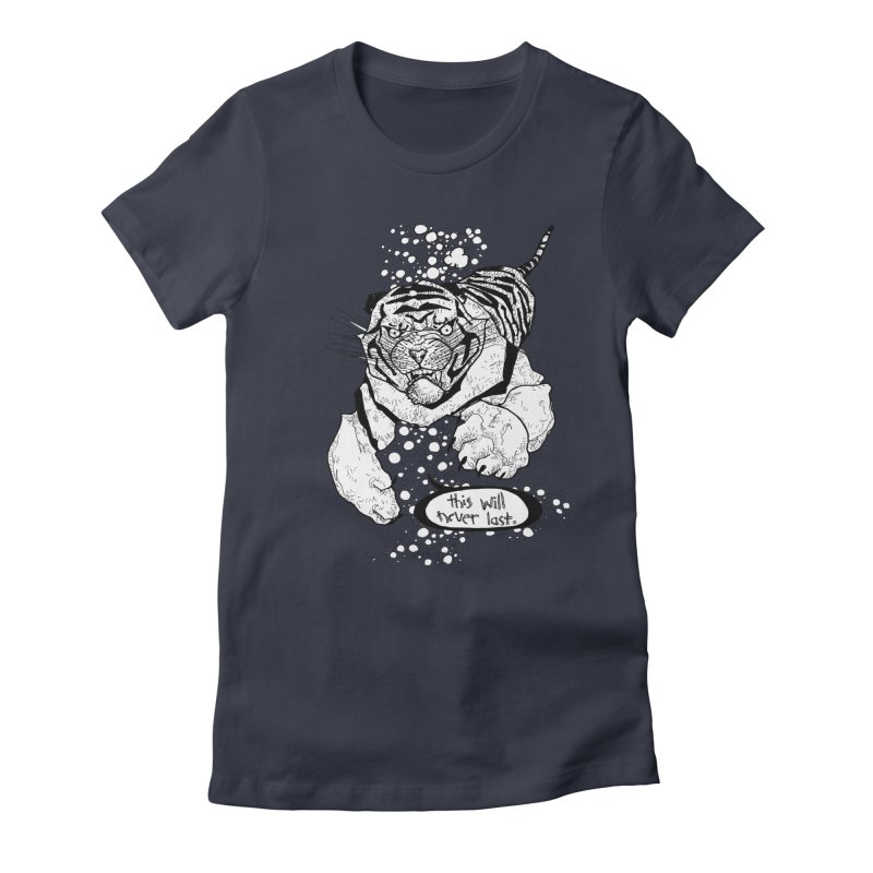 Neverlast Women's Fitted T-Shirt by Katiecrimespree's Ye Olde Shirt Shoppe