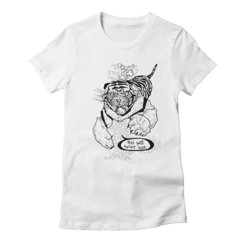 Neverlast Women's T-Shirt by Katiecrimespree's Ye Olde Shirt Shoppe