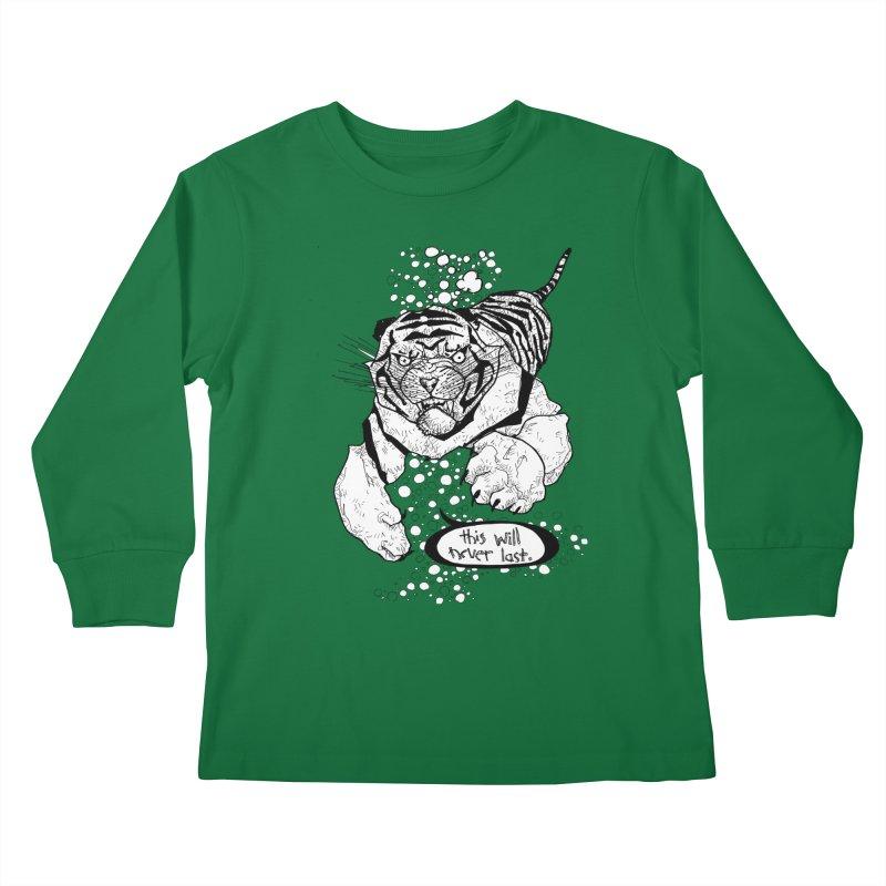 Neverlast Kids Longsleeve T-Shirt by Katiecrimespree's Ye Olde Shirt Shoppe
