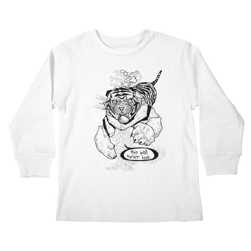 Neverlast Kids Longsleeve T-Shirt by Katiecrimespree's Ye Olde Shirt Shoppe
