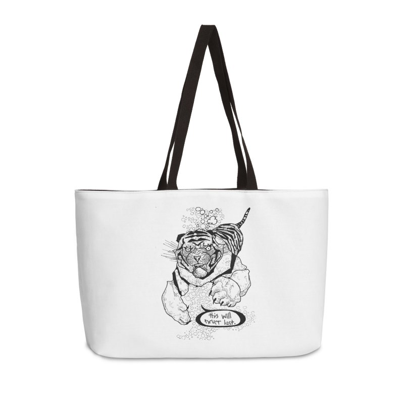 Neverlast Accessories Weekender Bag Bag by Katiecrimespree's Ye Olde Shirt Shoppe