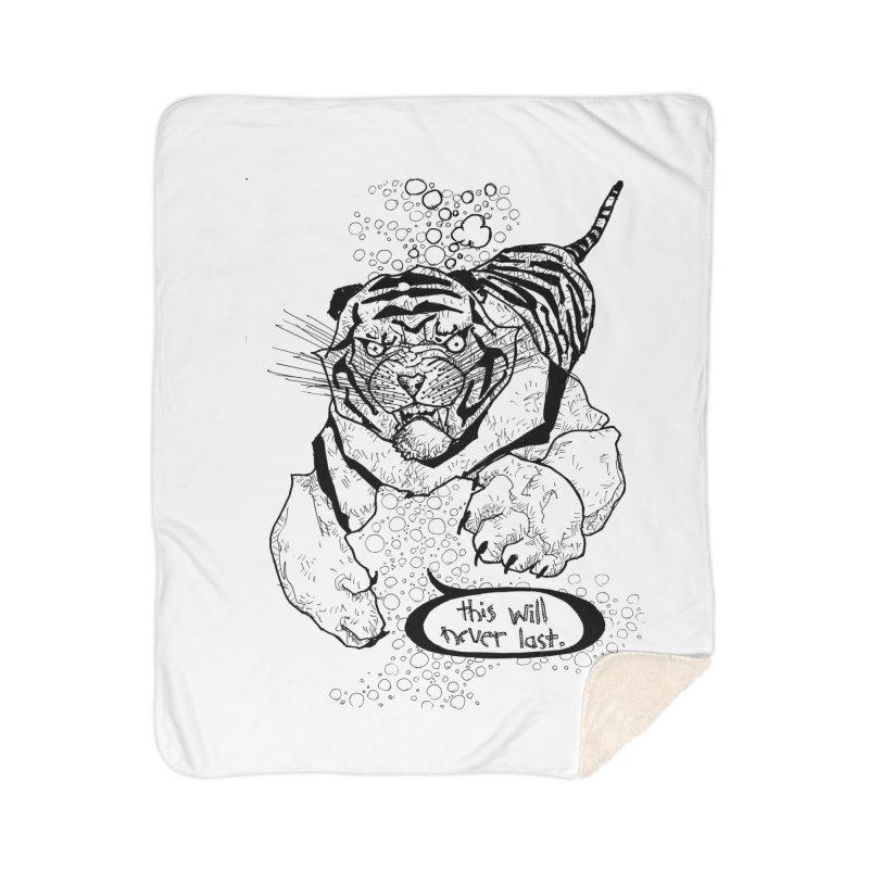 Neverlast Home Sherpa Blanket Blanket by Katiecrimespree's Ye Olde Shirt Shoppe