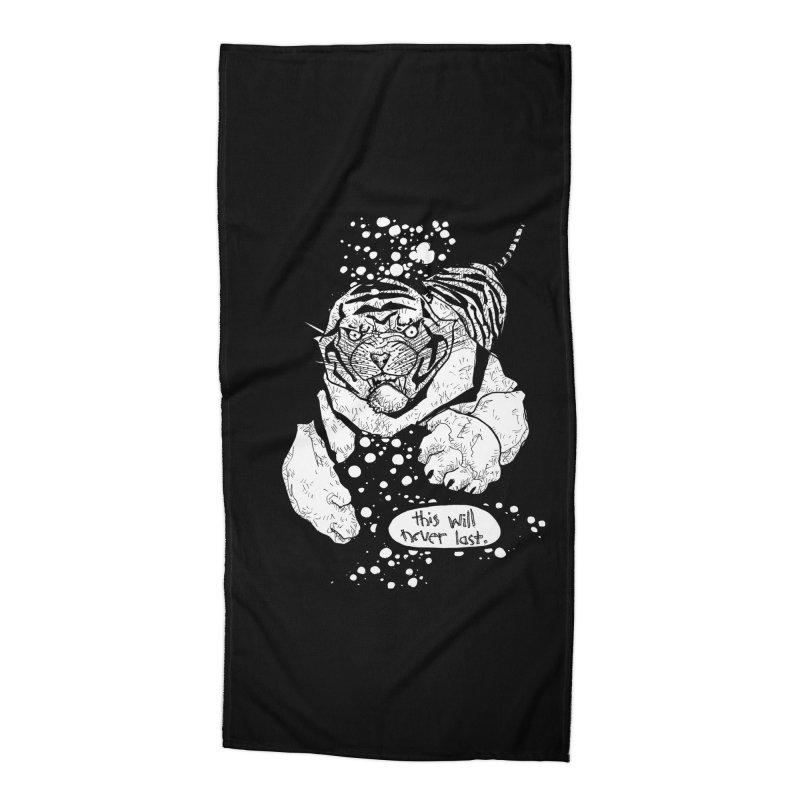Neverlast Accessories Beach Towel by Katiecrimespree's Ye Olde Shirt Shoppe