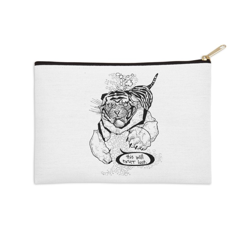 Neverlast Accessories Zip Pouch by Katiecrimespree's Ye Olde Shirt Shoppe