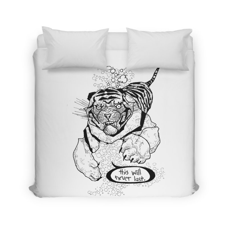 Neverlast Home Duvet by Katiecrimespree's Ye Olde Shirt Shoppe