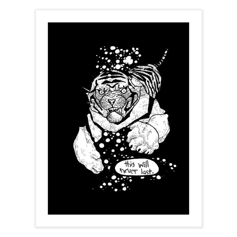 Neverlast Home Fine Art Print by Katiecrimespree's Ye Olde Shirt Shoppe