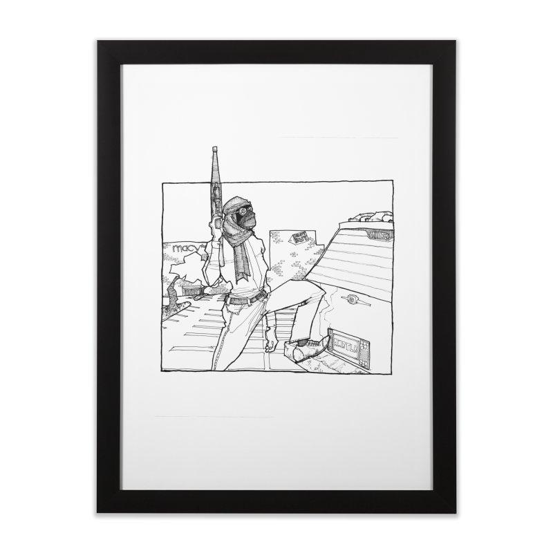 A.T. Home Framed Fine Art Print by Katiecrimespree's Ye Olde Shirt Shoppe
