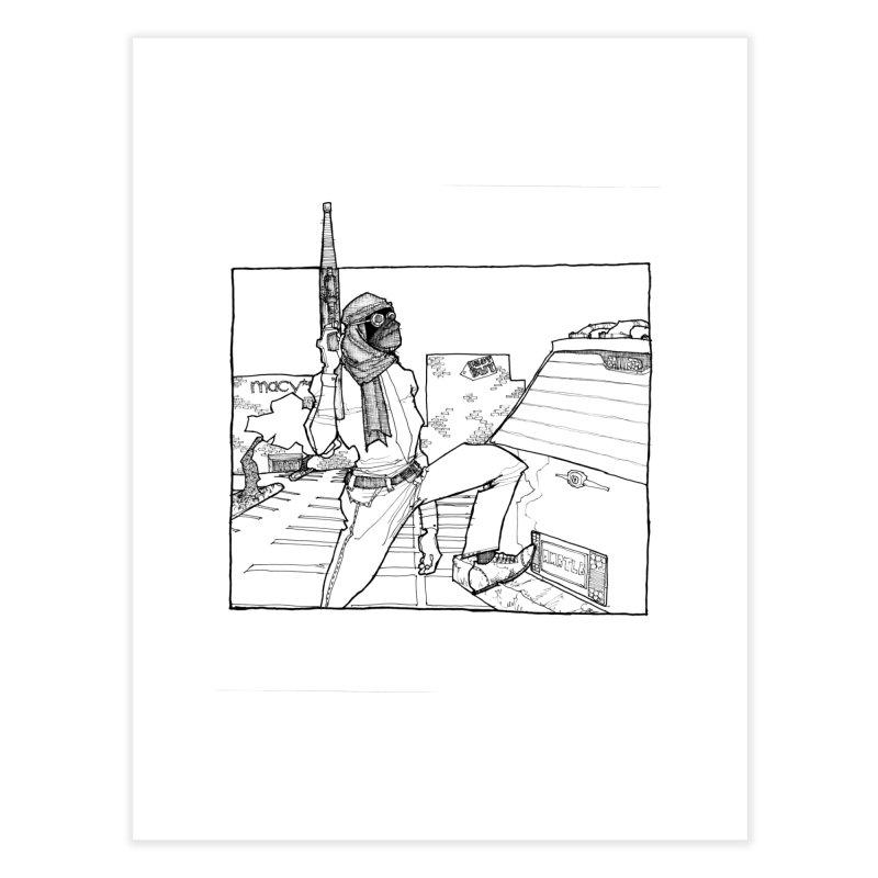 A.T. Home Fine Art Print by Katiecrimespree's Ye Olde Shirt Shoppe