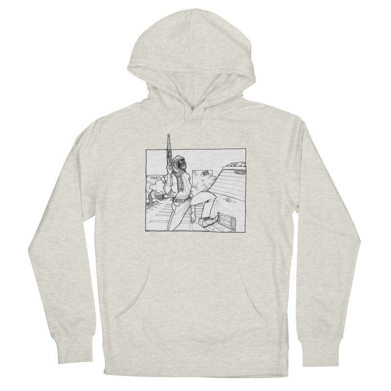 A.T. Women's French Terry Pullover Hoody by Katiecrimespree's Ye Olde Shirt Shoppe