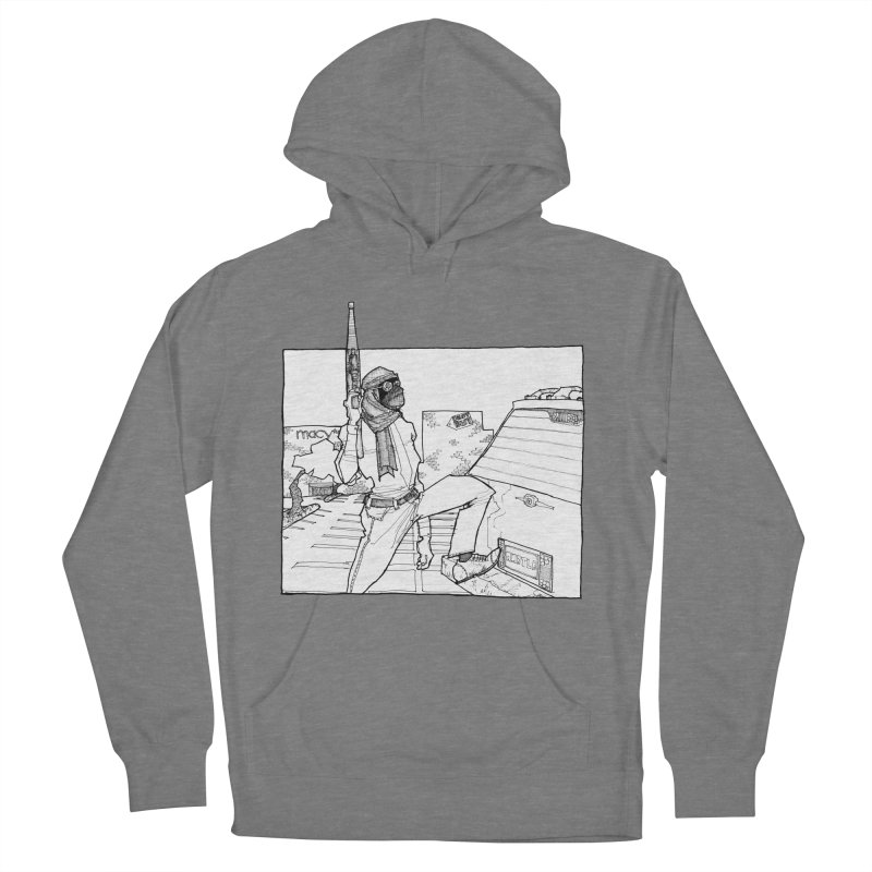 A.T. Men's French Terry Pullover Hoody by Katiecrimespree's Ye Olde Shirt Shoppe