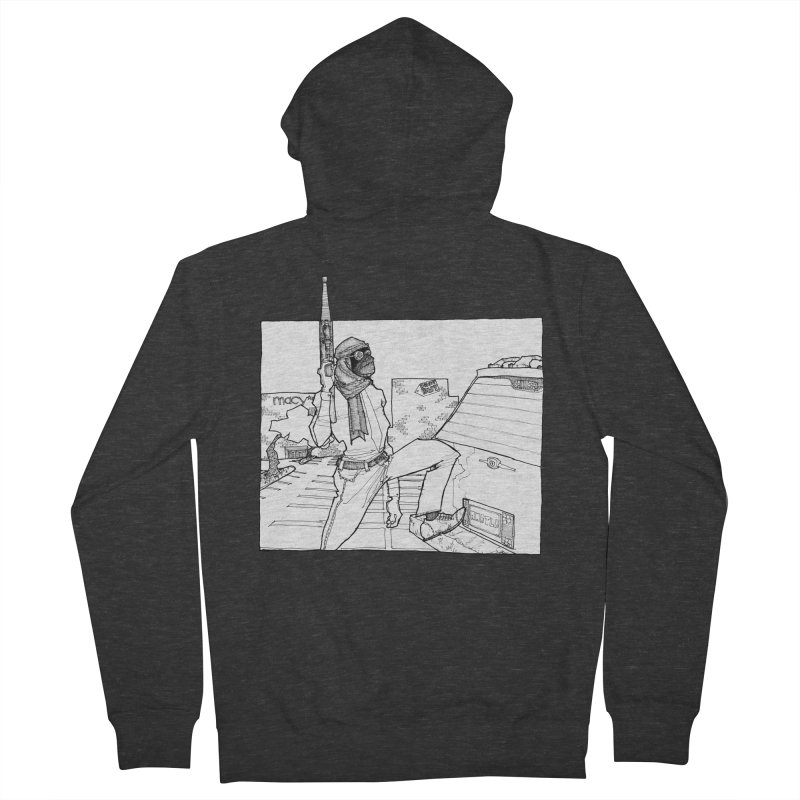 A.T. Women's French Terry Zip-Up Hoody by Katiecrimespree's Ye Olde Shirt Shoppe