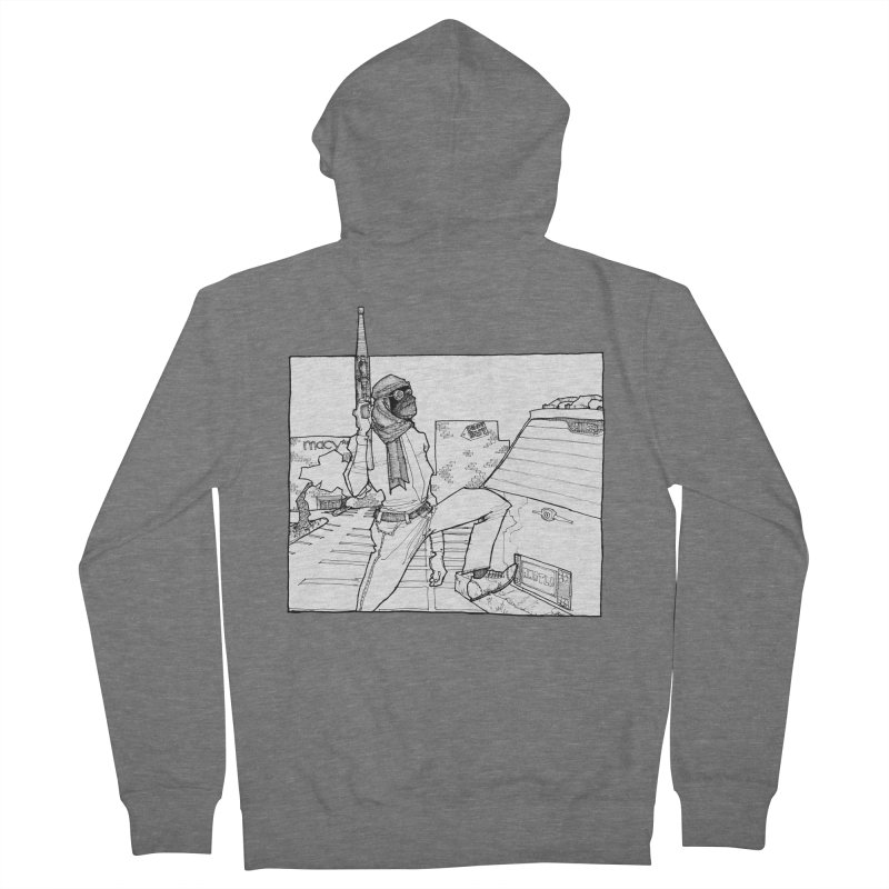 A.T. Women's Zip-Up Hoody by Katiecrimespree's Ye Olde Shirt Shoppe