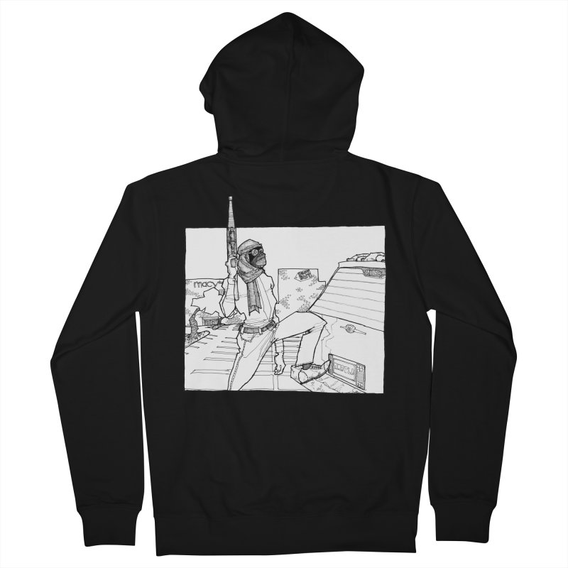 A.T. Men's Zip-Up Hoody by Katiecrimespree's Ye Olde Shirt Shoppe