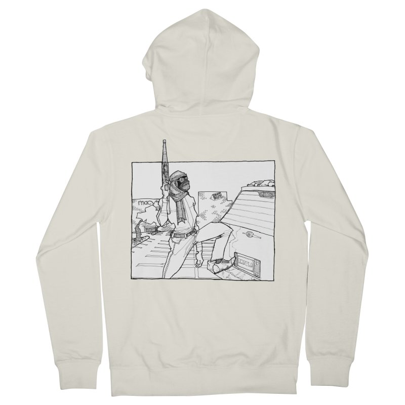 A.T. Men's French Terry Zip-Up Hoody by Katiecrimespree's Ye Olde Shirt Shoppe