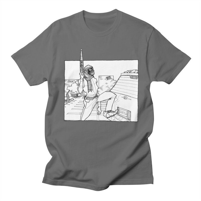 A.T. Men's Regular T-Shirt by Katiecrimespree's Ye Olde Shirt Shoppe