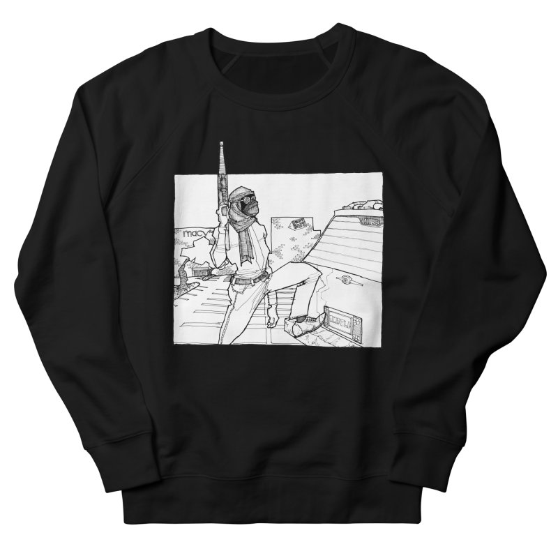 A.T. Men's French Terry Sweatshirt by Katiecrimespree's Ye Olde Shirt Shoppe
