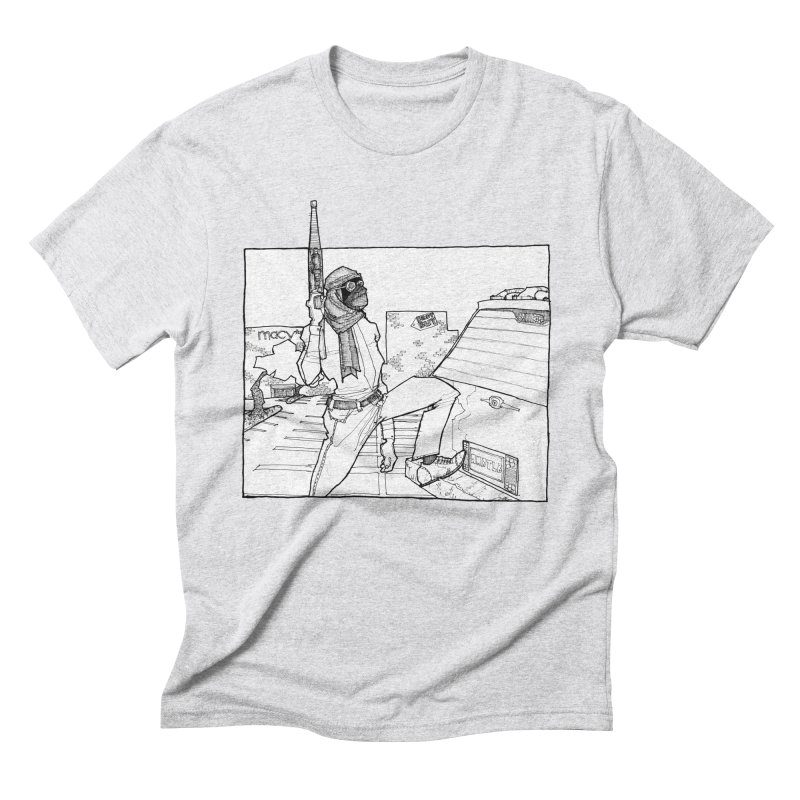 A.T. Men's Triblend T-Shirt by Katiecrimespree's Ye Olde Shirt Shoppe