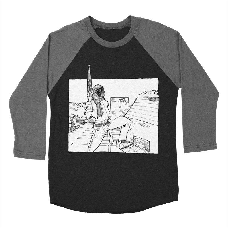 A.T. Women's Baseball Triblend Longsleeve T-Shirt by Katiecrimespree's Ye Olde Shirt Shoppe