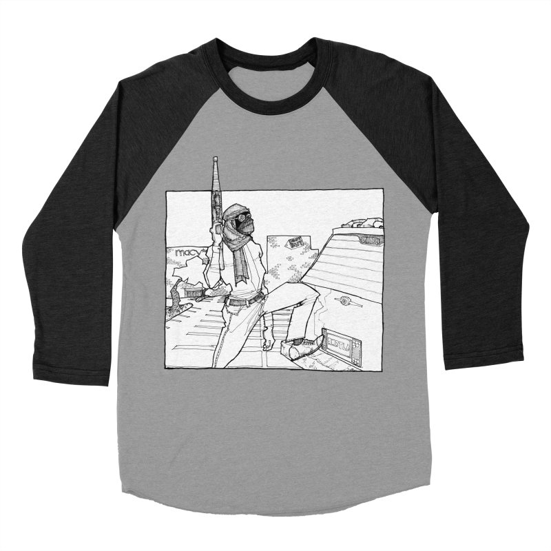A.T. Men's Baseball Triblend Longsleeve T-Shirt by Katiecrimespree's Ye Olde Shirt Shoppe