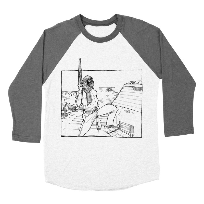 A.T. Men's Baseball Triblend T-Shirt by Katiecrimespree's Ye Olde Shirt Shoppe