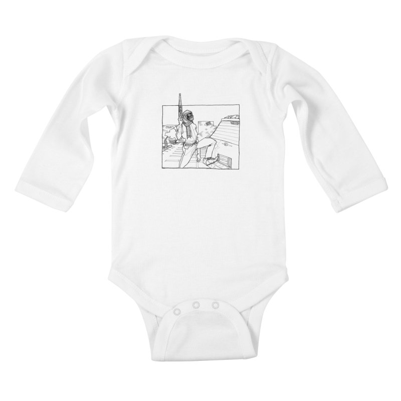 A.T. Kids Baby Longsleeve Bodysuit by Katiecrimespree's Ye Olde Shirt Shoppe
